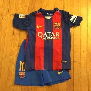 Barcelona Messi kit